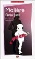 Couverture Dom Juan Editions Flammarion (GF) 2013