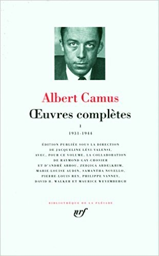 Couverture Oeuvres complètes, tome 1 : 1931-1944