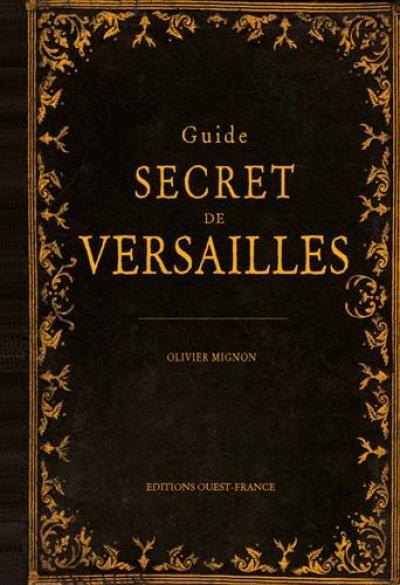 Couverture Guide secret de Versailles
