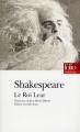 Couverture Le Roi Lear Editions Folio  (Théâtre) 1993