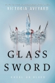 Couverture Red queen, tome 2 : Glass sword Editions HarperTeen 2016