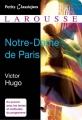 Couverture Notre-Dame de Paris, abrégé Editions Larousse (Petits classiques) 2013