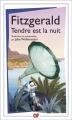 Couverture Tendre est la nuit  Editions Flammarion (GF) 2015