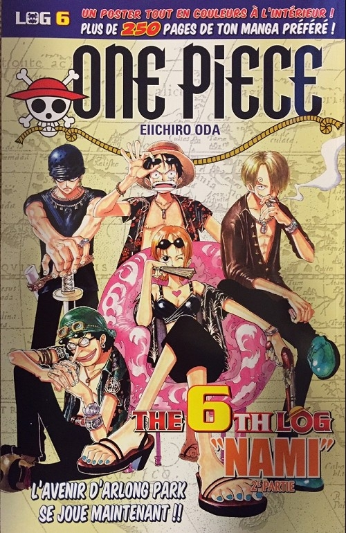 Couverture One Piece, Log, tome 06