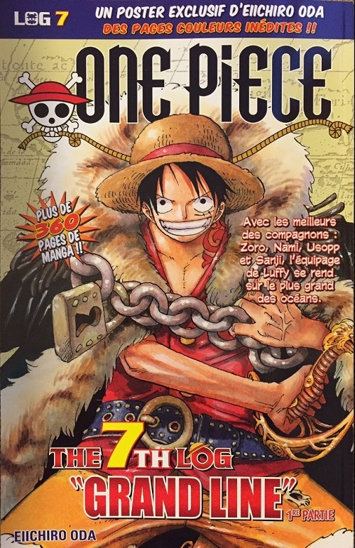 Couverture One piece, Log, tome 07