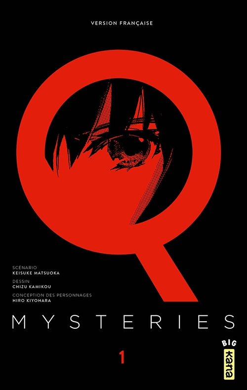 Couverture Q Mysteries, tome 01