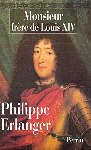 Couverture Monsieur, frère de Louis XIV