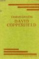 Couverture David Copperfield, abrégé Editions Hachette 1935