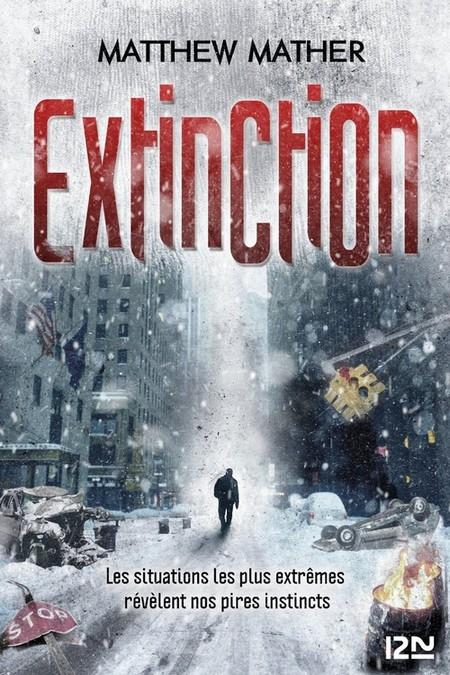 Couverture Extinction