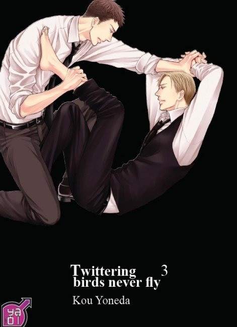 Couverture Twittering birds never fly, tome 3