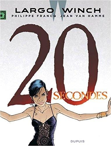 Couverture Largo Winch, tome 20 : 20 secondes