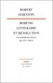 Couverture Bohème littéraire et Révolution Editions EHESS 1983