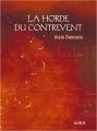 Couverture La Horde du Contrevent Editions La Volte 2012