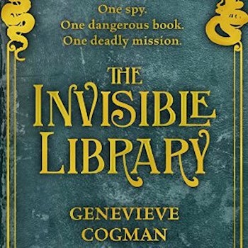 Couverture The Invisible Library, book 1
