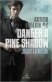 Couverture Adrien English, tome 2 : Danger à Pine Shadow Editions MxM Bookmark (Mystère) 2015
