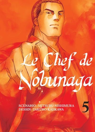 Couverture Le chef de Nobunaga, tome 05