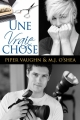 Couverture Une vraie chose Editions Dreamspinner Press 2015