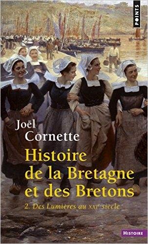 Couverture Histoire de la Bretagne et des Bretons, tome 2