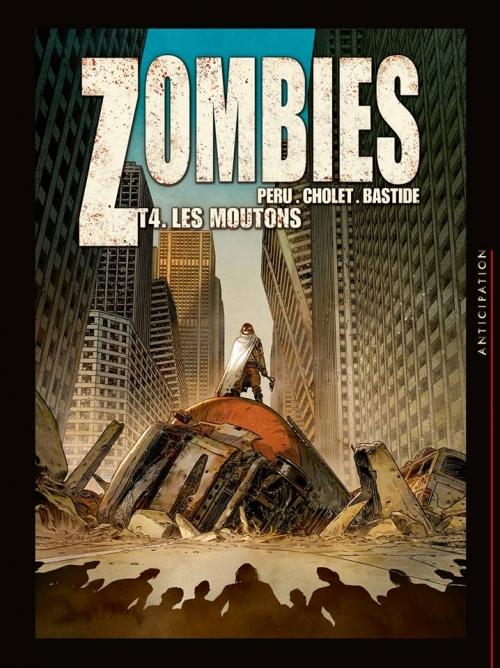 Couverture Zombies, tome 4 : Les moutons