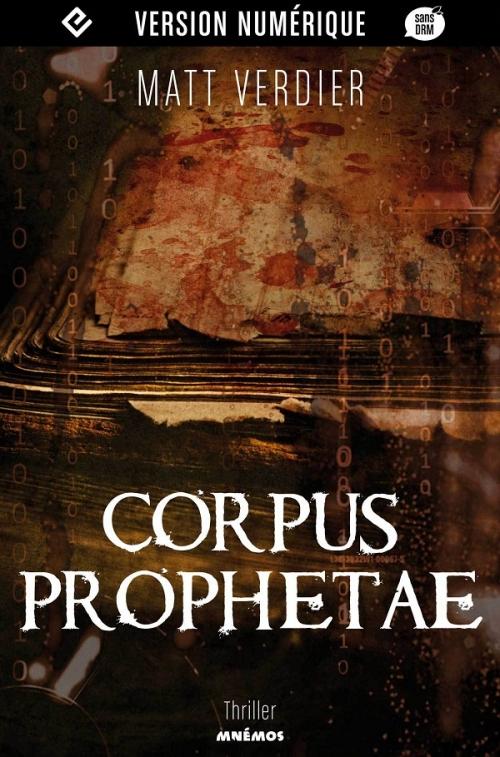Couverture Corpus Prophetae