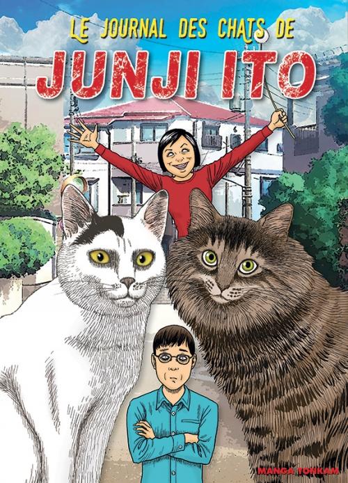 Couverture Le journal des chats de Junji Ito