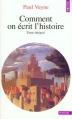 Couverture Comment on écrit l'histoire Editions Points 1996