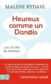 Couverture Heureux comme un danois Editions J'ai Lu (Bien-être) 2015