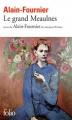 Couverture Le Grand Meaulnes Editions Folio  2009