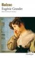Couverture Eugénie Grandet Editions Folio  (Classique) 1999