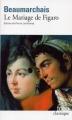 Couverture Le Mariage de Figaro Editions Folio  (Classique) 1999