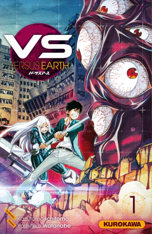 Couverture Vs versus earth, tome 1