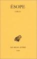 Couverture Fables Editions Les belles lettres (Collection des universités de France - Série grecque) 1967