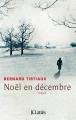Couverture Noël en décembre Editions JC Lattès 2015