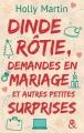 Couverture Dinde rôtie, demandes en mariage et autres petites surprises Editions Harlequin (&H) 2015