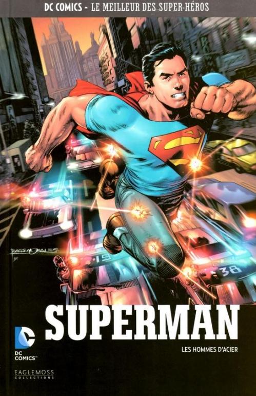 Couverture Superman : Les hommes d'acier
