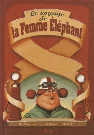 Couverture Le voyage de la Femme Elephant