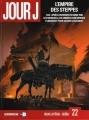 Couverture Jour J, tome 22 : L'empire des steppes Editions Delcourt (Série B) 2015