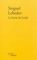 Couverture La limite de l'oubli Editions Verdier 2014