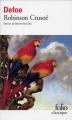 Couverture Robinson Crusoé Editions Folio  (Classique) 2001