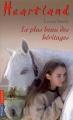 Couverture Heartland, tome 26 : Le plus beau des héritages Editions Pocket (Jeunesse) 2006