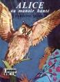 Couverture Alice au manoir hanté Editions Hachette (Bibliothèque verte) 1971