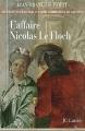 Couverture L'Affaire Nicolas Le Floch Editions JC Lattès 2004
