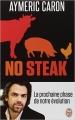 Couverture No steak Editions J'ai Lu (Document) 2014