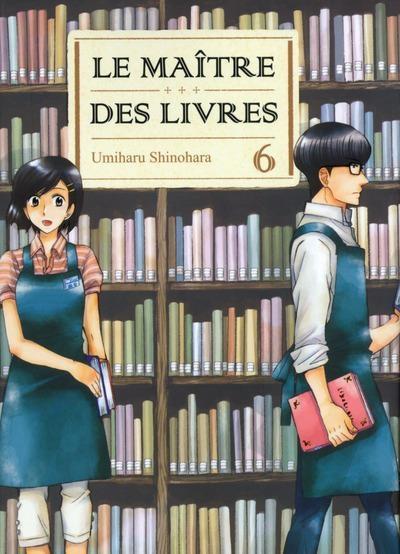 Couverture Le maître des livres, tome 06