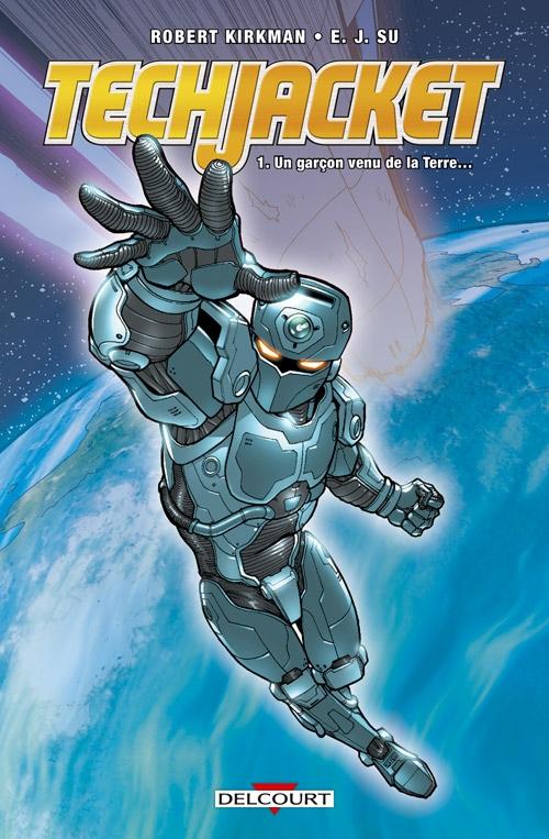 Couverture Tech Jacket, tome 1 : L'armure des étoiles