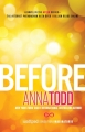 Couverture After, tome 6 : Before, partie 1 Editions Gallery Books 2015
