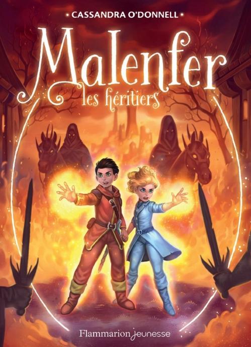 Couverture Malenfer, cycle 1, tome 3 : Les héritiers