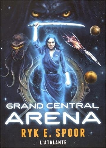 Couverture Grand Central Arena, tome 1