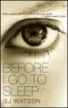Couverture Avant d'aller dormir Editions Doubleday 2011