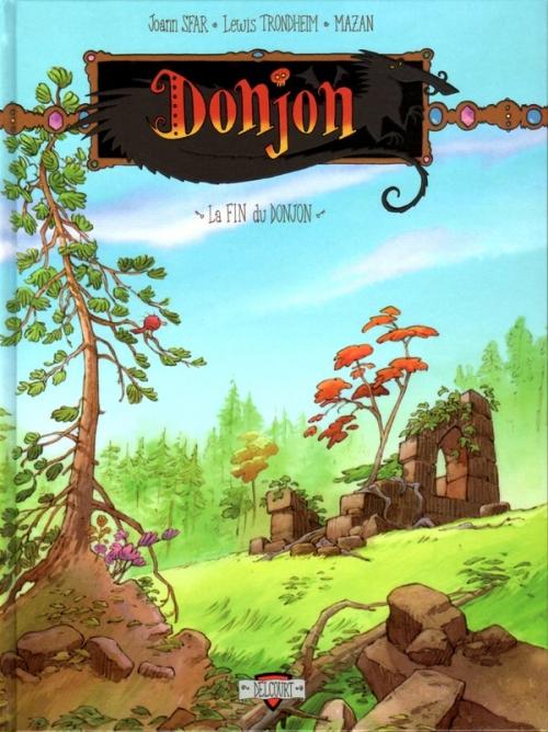 Couverture Donjon crépuscule, tome 111 : La fin du donjon